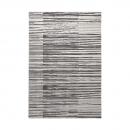 tapis moderne rayé gris corso esprit home