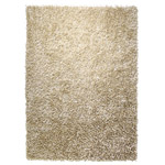 tapis cool glamour shaggy champagne esprit home