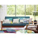 Tapis kelim moderne Esprit RAINBOW TRIANGLE KELIM multicolore
