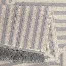 Tapis Carpets & CO. moderne IRREGULAR FIELDS gris et blanc