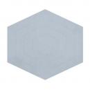Tapis Enfant Hexagone bleu 120x108 Lilipinso