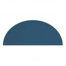 Tapis Enfant demi lune bleu foncé 140x70 Lilipinso