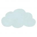 tapis enfant nuage bleu turquoise light lilipinso