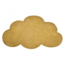 tapis enfant nuage moutarde 64x100 lilipinso