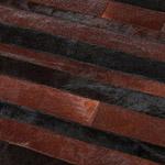 Tapis marron et noir JACOB HOME SPIRIT patchwork