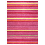 tapis esprit home funny stripes rose