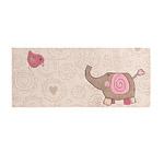 Tapis enfant HAPPY ZOO ELEPHANT beige SIGIKID