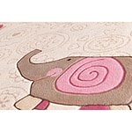 Tapis enfant HAPPY ZOO ELEPHANT SIGIKID beige