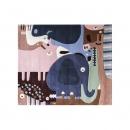 Tapis enfant PUZZLE ANIMAUX multicolore Art for Kids