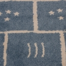 Tapis enfant Marelle bleu Art For Kids