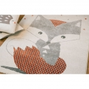 Tapis enfant Renard - ART FOR KIDS