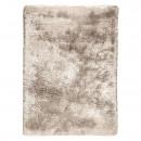 tapis shaggy tissé main beige adore ligne pure