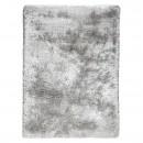 tapis shaggy tissé main gris adore ligne pure