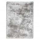 tapis tissé main gris shaggy adore ligne pure