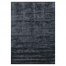 Tapis BAMBOO noir Angelo en fibres de bambou
