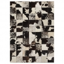 tapis angelo starless patchwork cuir vache angelo
