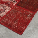 Tapis Up-Cycle Rouge - Angelo