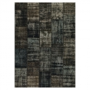 tapis de couloir up-cycle noir angelo