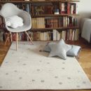 Tapis enfant Constellation d\'étoiles gris Art For Kids