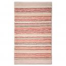 tapis de bain esprit home cool stripes beige
