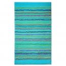 tapis de bain cool stripes turquoise esprit home