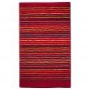 tapis de bain cool stripes rouge esprit home