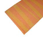 Tapis de couloir ARE zébré orange SOFIE SJOSTROM DESIGN