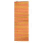 Tapis de couloir orange SOFIE SJOSTROM DESIGN ARE zébré