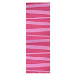 Tapis de couloir zébré rose SOFIE SJOSTROM DESIGN ARE