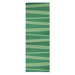 Tapis de couloir vert SOFIE SJOSTROM DESIGN ARE zébré
