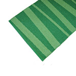 Tapis de couloir ARE zébré SOFIE SJOSTROM DESIGN vert