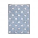 tapis enfant stars bleu lorena canals