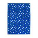 tapis enfant lorena canals dot bleu