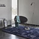 Tapis NEW GLAMOUR moderne bleu Esprit Home