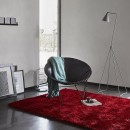 Tapis NEW GLAMOUR moderne rouge Esprit Home