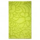 tapis de bain flower shower vert esprit home