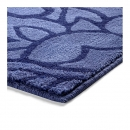 Tapis de bain FLOWER SHOWER bleu Esprit Home
