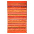 tapis de bain cool stripes orange esprit home
