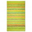 tapis de bain esprit home cool stripes vert