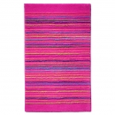 tapis de bain cool stripes rose esprit home