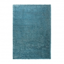 tapis cosy glamour bleu shaggy esprit home
