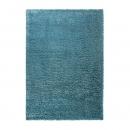 tapis shaggy cosy glamour bleu esprit home