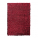 tapis cosy glamour rouge shaggy esprit home