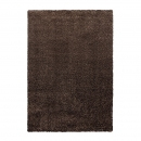 tapis cosy glamour marron shaggy esprit home