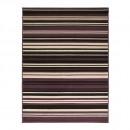 tapis flair rugs canterbury noir et violet