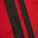 Tapis noir et rouge Canterbury Flair Rugs