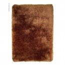 Tapis shaggy tufté main marron Pearl Flair Rugs