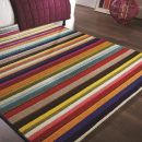 Tapis rayé multicolore Tango Flair Rugs