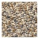 tapis beige pure laine vierge brink & campman stone