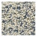 tapis gris clair pure laine vierge brink & campman stone